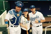 Celebrities @ The K / Take a look at some of the famous guests who have visited Kauffman Stadium!