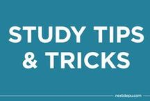 Studying Tips & Tricks / by NextStepU