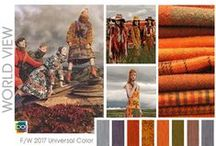 ❤️ Fashion : Colors 4 seasons ❤️ / Recherches sur les couleurs / appliquées au monde du textile, des accessoires, du maquillage, de la personnalité et la morphologie.