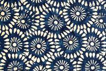 ❤️ MOTIFS ❤️ / Motifs textiles // inspiration / by bysophieb eco-design