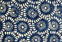 ❤️ MOTIFS ❤️ / Motifs textiles // inspiration