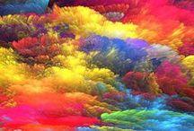 ❤️ RAINBOW - Color me HAPPY ❤️ / Arc-en-ciel / Couleurs / Inspiration / by bysophieb eco-design