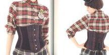 ❤️❤️❤️ CORSET ❤️❤️❤️ / Inspiration Corsets, looks portés, idées de corsets à créer.