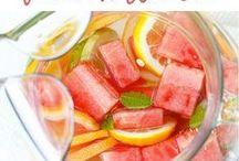 Drankjes - warm of koud / Gezonde lekkere drankjes, zowel warme als koude.