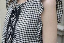 ❤️ VICHY ❤️ / Vêtements et accessoires à motifs carreaux vichy