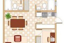 Eco Wonen - Floorplans / Inspiratie opdoen door plattegronden voor eco woningen