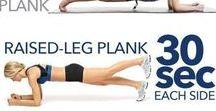 Workouts / Bewegen om je lichaam te verbeteren