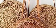 ❤️ PANIERS / STRAW BAG ❤️ / Paniers, osier, rotin, tissage, paille ...