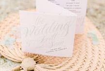 Wedding Stationery / BLVD Studio's Wedding Stationery Shop