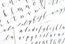 hand lettering & watercolor / all things hand lettering and watercolor (fonts, pens, ink, paint,brushes,paper, tutorials...) / by Terri Bleeker