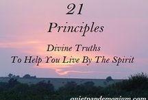 21 Principles by Richard G. Scott