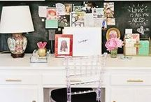 home style // home office / by Terri Bleeker