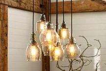 home style // light it up / by Terri Bleeker