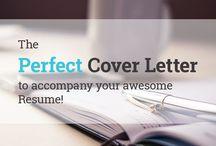 Cover letters / Ejemplos y plantillas de cartas de presentación