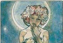 Mucha / Alphonse Mucha - one of my favorite illustrators.
