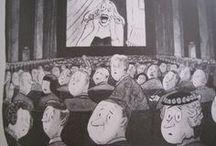Addams / Charles Addams - we share a birthday!
