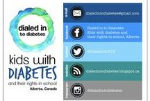 Dialed in to Diabetes / Advocates for a policy and guidelines for kids at school living with diabetes in Alberta.