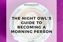 I want to be a morning person / Lifestyle Hacks to become a morning person