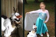 For My Dog / Frozen olaf Anna Elsa dog costume diy dog  dog stuff dog clothes dog awesome / by Vanessa Biddinger