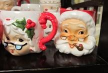 Christmas Santa Mugs / by MaryKay Carlson