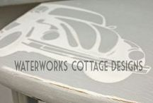 Painted furniture and signs / by Dawn Collins