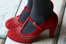 Made for Walking / Shoes, boots, and other cute footwear. / by Nicci McG