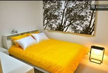Urbanwood Guesthouse @Hongdae, Seoul / Seoul's newest Guesthouse, Urbanwood's Dewey Meadow room is nature-inspired design and it features 1 queen and 1 supersingle sized bed, with a private bathroom. Ideal for 2 friends or a family of 3. Only 2 min from Hongdae subway stn.
