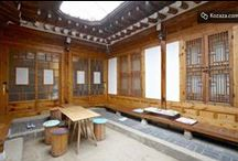 """Pine Suite Hanokstay @Bukchon, Seoul / There is true healing of """"space heling through Hanok"""" and quiet and peaceful garden of Changdeok Palace in the Pine suite. The pine suites which is the pine tree house where you can experience Hanok and overlooks Changdeok Palace in Bukchon, Seoul has been built by a space designer, Gyeong Soo Kim for Hanok experience. Since the appearance of Hanok is combined with antique furniture and vintage urniture, this is the cozy and beautiful hanok where you can feel the beauty and modernity of Hanok."""
