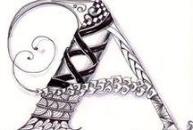 La Cacharperie - Letras, tangles, caligrafía