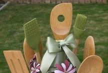 Gift Baskets / I love the idea of filling up a basket or bucket or box, any kind of great holder, with tons of cute items for one event or another. Here are some gift baskets as well as great ideas to make to put into them! / by Kimberly Burch