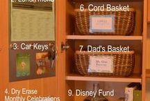 Organizing,cleaning  and helpful ideas / by Kimberly Burch