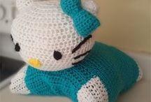Crochet and the bear