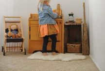Waldorf: Inspiring Rooms! / Ideas for rearranging and Waldorf Play Spaces! / by Neen .