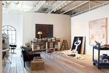 s t u d i o / art / design studio / by lindsay