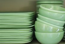 Homestead: Jadeite Collecting / by Annie Haas