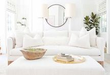 All Things White / Brighten up any room with shades of bright whites.