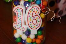 Sweet Sixteen Ideas