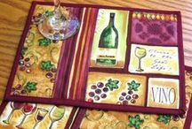 Mug Rugs/Table Runners & Other Small Quilties / For all smaller quilted items / by Julie Eaves