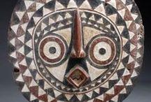 Masques africains... / Des masques en provenance de toutes les ethnies d'Afrique
