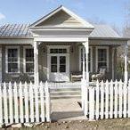 Shabby White Dream Home / Home decor inspiration.