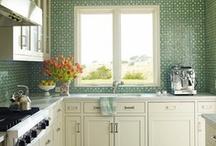 kitchen ideas & kitchens I love / by Kara Miller