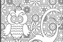 Coloring/writing templates / by Kara Miller
