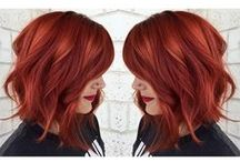 Hot and Spicy Reds / •Scarlet •Ruby •Crimson •Cardinal •Wine •Flushed •Bloodshot •Ginger •Chestnut •Auburn / by Embrace Salon and Spa
