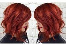Rarest Reds / •Scarlet •Ruby •Crimson •Cardinal •Wine •Flushed •Bloodshot •Ginger •Chestnut •Auburn