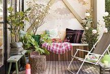 Balkonkunst / Geen tuin, wel een balkon? Hier vind je de leukste inspiratie!