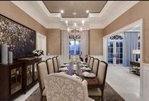 CASATOPIA | Dining Rooms / Dining Rooms & Breakfast Areas by Casatopia, LLC featuring custom furniture, lighting, drapery and more!