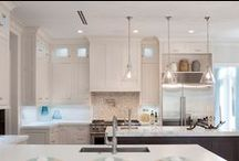 CASATOPIA | Kitchens / Kitchens by Casatopia featuring custom cabinetry, counters, lighting, appliances and more!