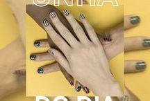 Unha do Dia / As unhas dizem muito sobre seu estilo. Conheça nail arts superediferentes e produtinhos para cuidar delas!