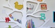 Bedroom Decor Ideas for Kids / Decorations and DIY Decor for children's rooms.
