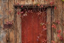 old barns / by Frances Hood